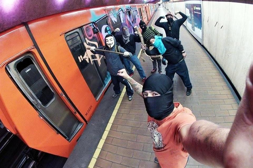 Graffiti mortal